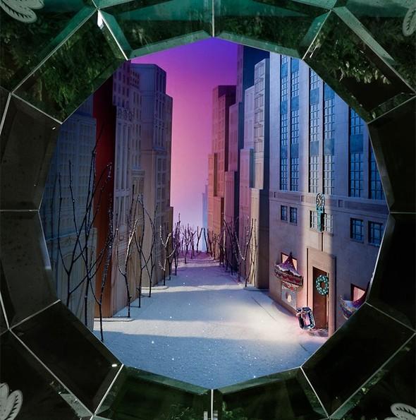 10 праздничных витрин: Робот в Agent Provocateur, цирк в Louis Vuitton и другие. Изображение № 52.