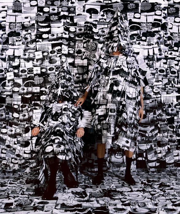 Изображение 8. Fashion-авангард из разных стран.. Изображение № 4.