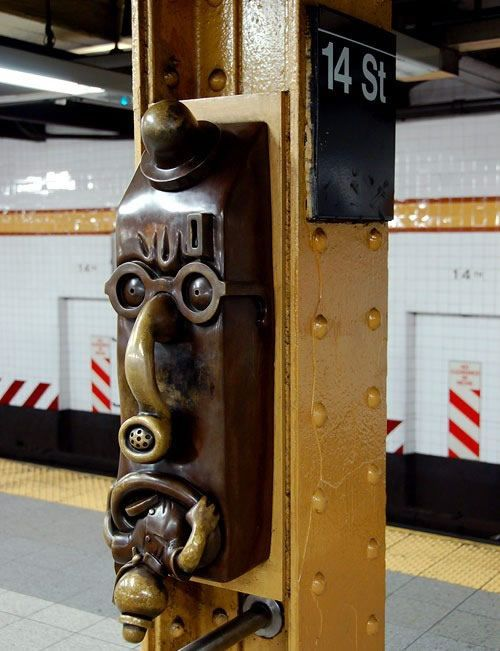 Скульптуры вНью-Йоркском метро. Изображение № 8.