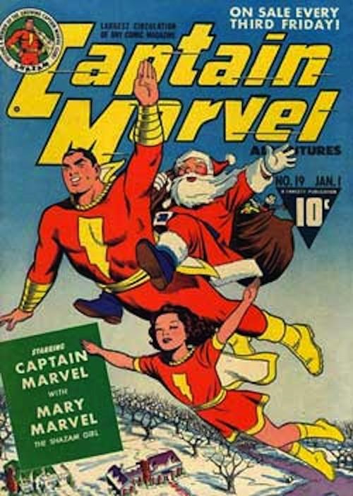 20 новогодних обложек комиксов. Изображение № 2.