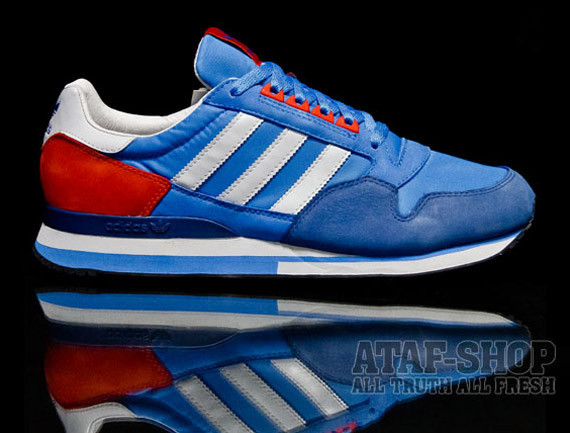 Adidas Originals ZX 500 – Pool Blue. Изображение № 2.