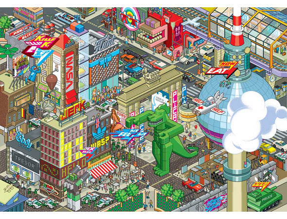 Изображение 3. 12 медиа-дизайнеров фестиваля OFFF.. Изображение № 27.