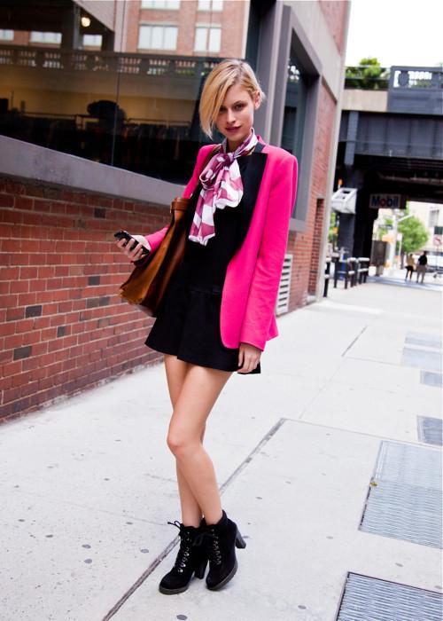 City Looks: Стиль моделей в блоге Bonae L'Amour. Изображение № 8.