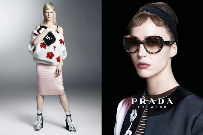 Max Mara, Prada и другие марки выпустили новые кампании. Изображение № 22.