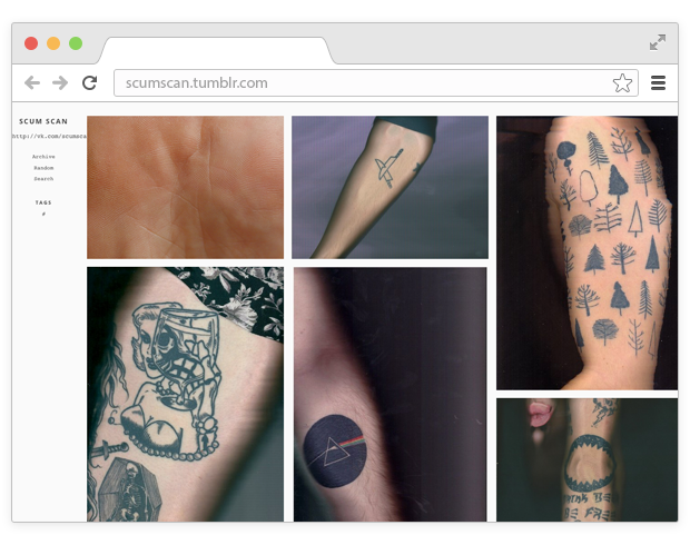 5 вкладок: арт-гифки и сканы татуировок . Изображение № 4.