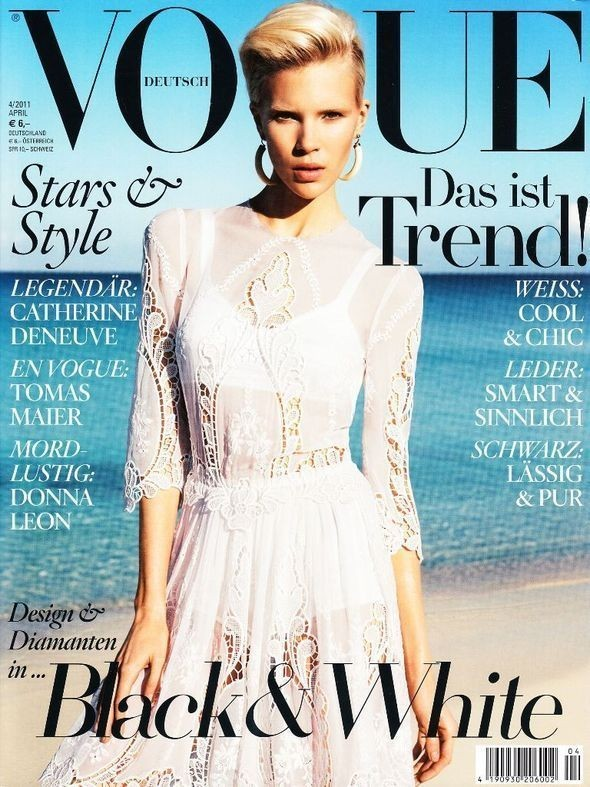 Изображение 4. Обложки Vogue: Америка, Германия и другие.. Изображение № 2.