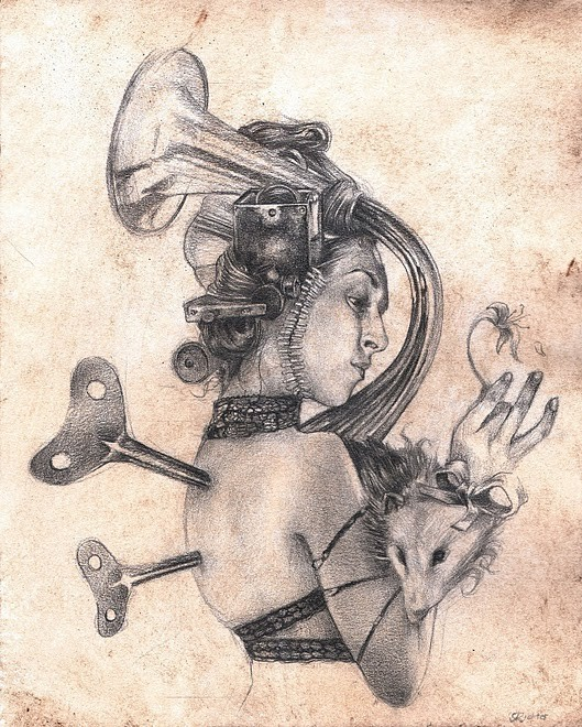 Женственный машинариум Джефри Ритчера. Изображение № 34.