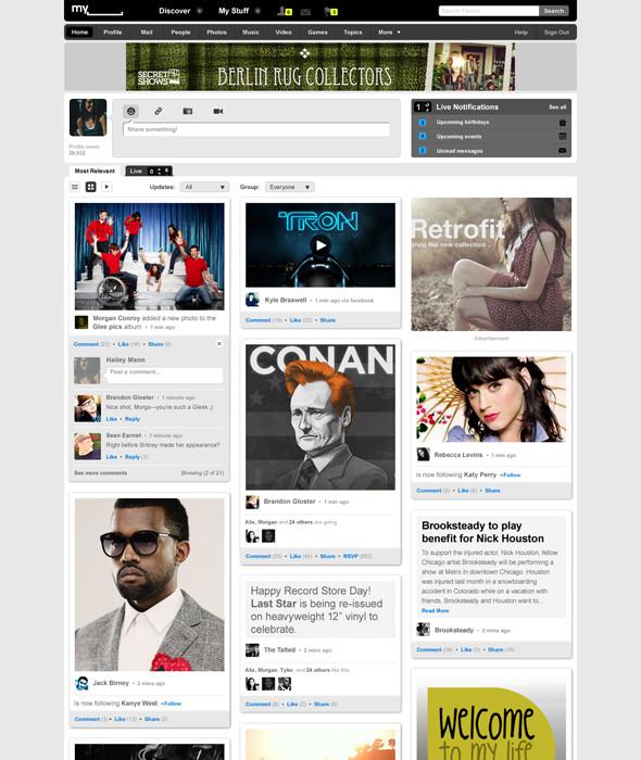 Новый Myspace. Изображение № 3.