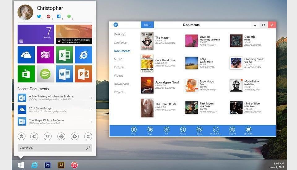 11 концептов Windows 9, которые лучше Windows 10. Изображение № 40.
