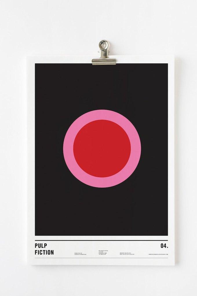Концепт: постеры к фильмам только из кругов . Изображение № 9.