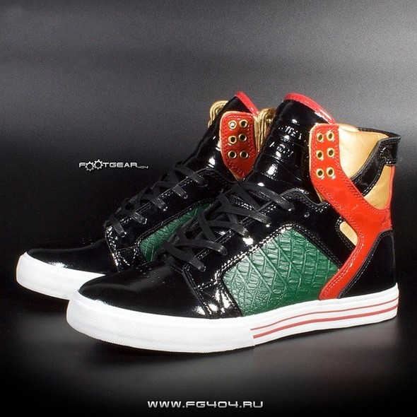 Sam Zakharoff Likes SUPRA Skytop Green Black Red. Изображение № 1.