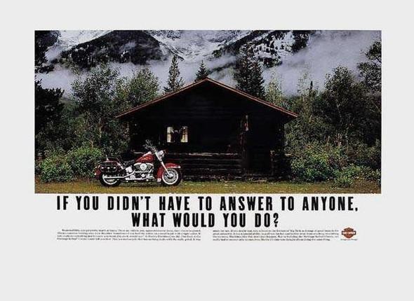 Harley Davidson: реклама легенды. Изображение № 7.