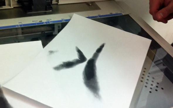 Изображение 9. «Handschrift»: Шрифт из отпечатков рук.. Изображение № 11.