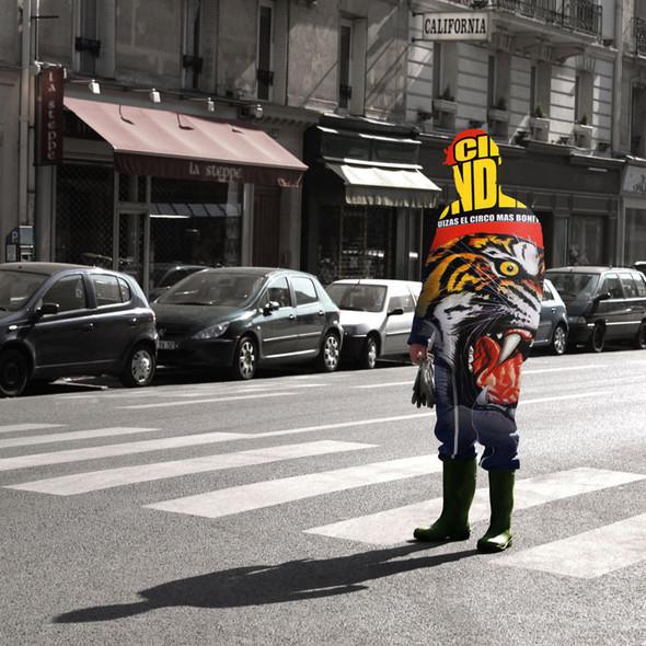 Фотографические эксперименты на улицах Парижа Начо Ормачеа. Изображение № 6.