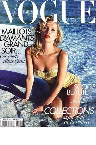 Кейт Мосс на обложках vogue. Изображение № 23.