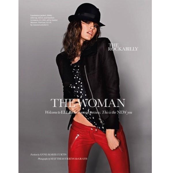 5 новых съемок: Dossier, Elle, V и Vogue. Изображение № 10.