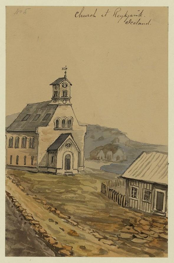 Исландия в середине XIX века: путевые рисунки американского дипломата. Изображение № 16.