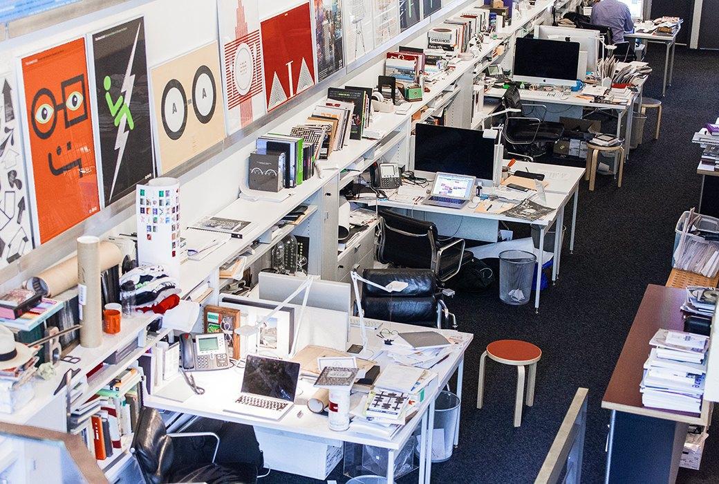Гельветика и ретро: Как выглядит офис легендарного дизайн-бюро Pentagram. Изображение № 5.
