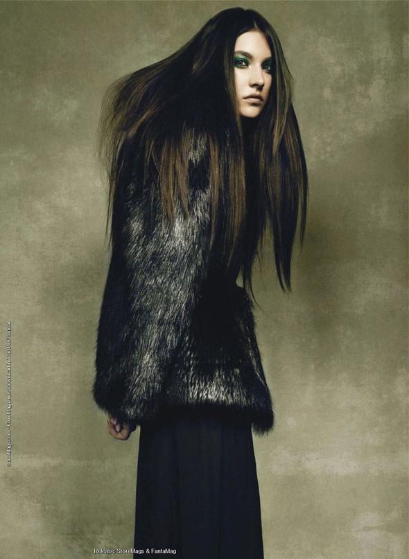 Съёмка: Жаклин Яблонски для Harper's Bazaar. Изображение № 10.