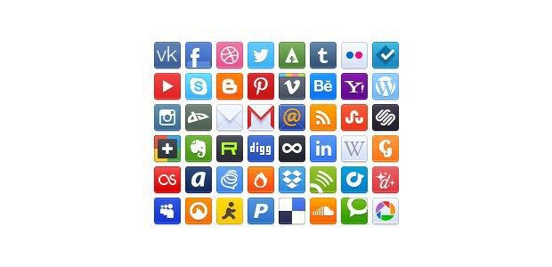 Редизайн: Новый логотип «ВКонтакте» . Изображение № 10.