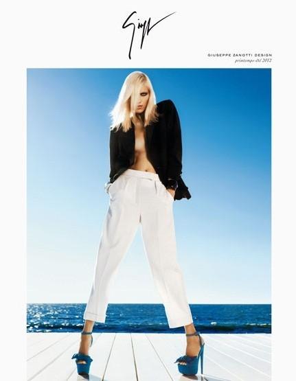 Превью кампаний: Versace, Louis Vuitton и Giuseppe Zanotti. Изображение № 5.