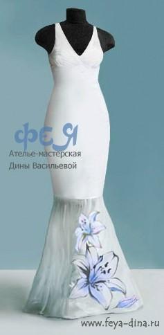 коллекция свадебных платьев от ателье - мастерской Дины Васильевой. Изображение № 7.