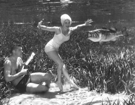 Подводные фотографии Bruce Mozertom 1938 года. Изображение № 7.