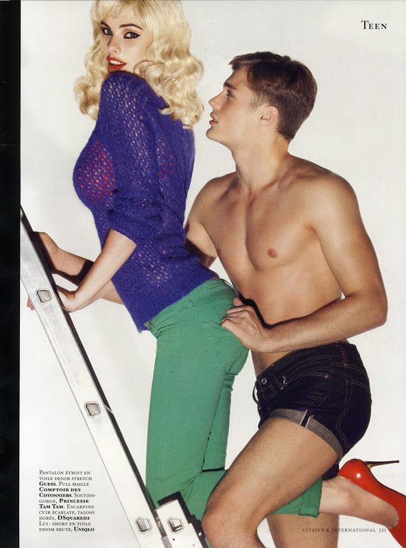 Вышли новые мужские съемки из Citizen K, Fashionisto, Vogue и других журналов. Изображение № 21.