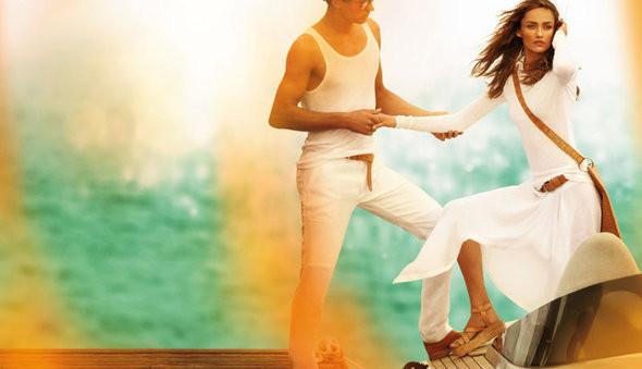 Изображение 8. Рекламные кампании: Chloe, Jean Paul Gaultier, Michael Kors и Versace.. Изображение № 10.