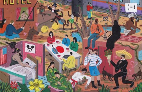 Босх 2.0: Иллюстрации-комиксы Брехта Ванденбрука. Изображение № 15.