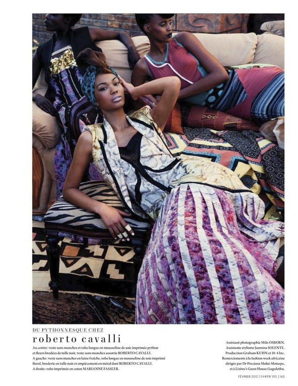 Съёмка: Шанель Иман для L'Officiel. Изображение № 23.