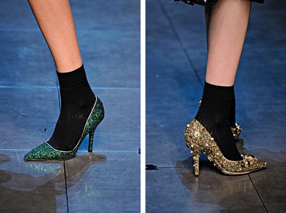 Изображение 93. Высота: 10 тенденций обуви FW 2011.. Изображение № 92.