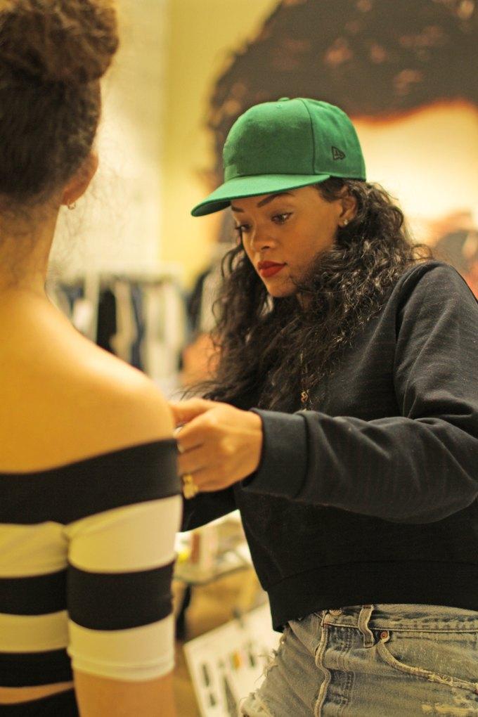 Рианна создала коллекцию одежды для River Island. Изображение № 1.