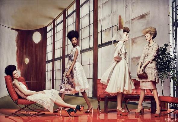 Vogue US March 2012. Изображение № 6.