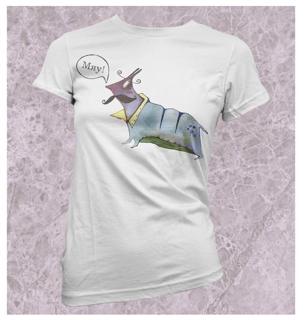 Изображение 21. Принтовые футболки.. Изображение № 21.