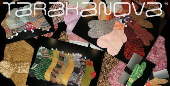 """Поступление шерстяных носков авторской работы от бренда """"Tarakanova"""". Изображение № 1."""
