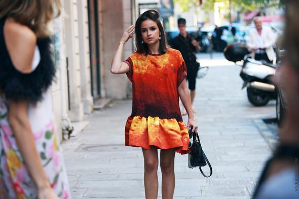 Уличный стиль на Неделе высокой моды в Париже. Изображение № 113.