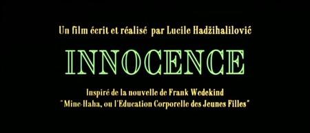 Невинность Innocence (Люсиль Хадзихалилович, 2004). Изображение № 2.