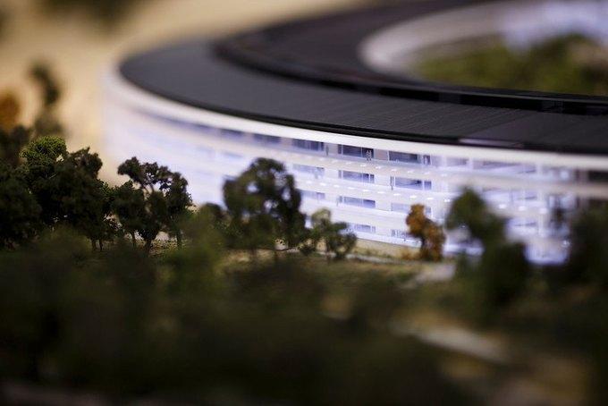 Опубликован макет футуристического кампуса Apple. Изображение № 5.