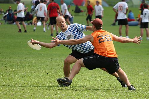 Летающие тарелки? (Ultimate Frisbee). Изображение № 1.
