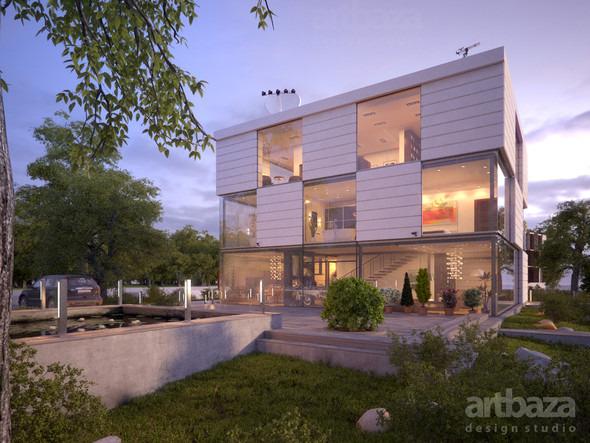 Проект и строительство дома Modul. Изображение № 3.