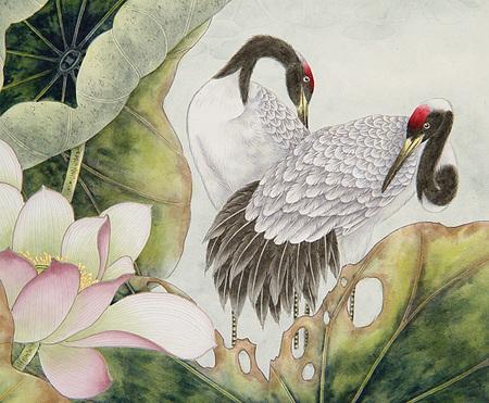 Птицы ицветы. Изображение № 24.