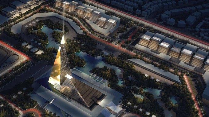 В Египте построят небоскрёб-пирамиду . Изображение № 2.