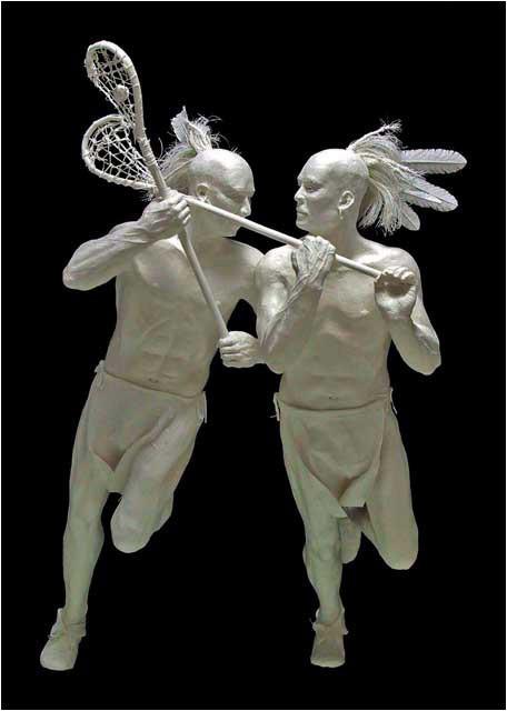 Бумажные скульптуры. Изображение № 29.