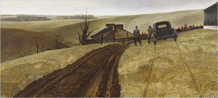 Andrew Wyeth- живопись длясозерцания иразмышления. Изображение № 10.