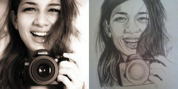 Онлайн-сервис позволяет незнакомцам обмениваться портретами. Изображение № 2.