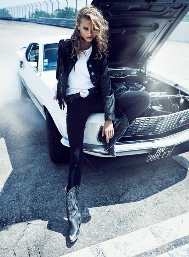 Вышли новые съемки из Bon, Flair, Vogue и других журналов. Изображение № 45.
