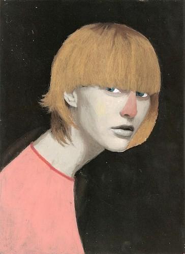Абсурдные и привлекательные портреты Хуима Тио. Изображение № 13.