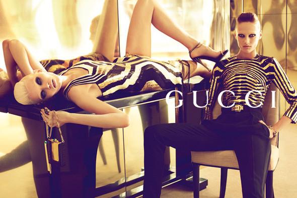 Кампания: Gucci SS 2012. Изображение № 2.