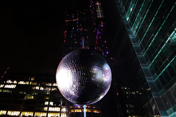Самый большой диско шар в мире . Изображение № 1.